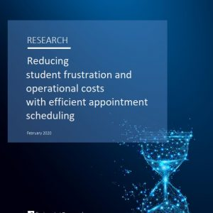 Reducing student frustration and operational costs with efficient appointment scheduling